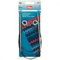 Prym 3 Mm 60 Cm Esnek Misinalı Hızlı Örme Şişi - 218916