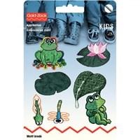 Prym 6 Adet Yeşil Kurbağa Ütüyle Yapışan Ve Dikilebilen Arma - 925379