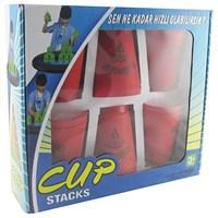 Cup Stags 12 Li Dizilim Sporu Bardak Seti Kırmızı