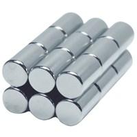 Neodyum Mıknatıs Silindir D6x10 mm (10'lu Paket)