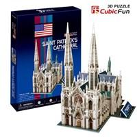 Cubic Fun Saint Patrick's Cathedral (3D Puzzle)