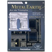 Metal Earth Arc De Triomphe Mms023