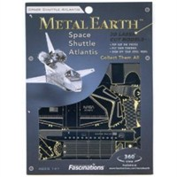 Metal Earth Space Shuttle Atlantis Mms015