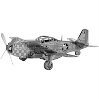 Metal Earth Mustang P-51 Mms003