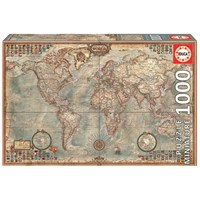 Educa Polıtıcal Map Of The World