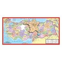 Art Puzzle Türkiye Haritası 130 Parça Puzzle