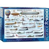 1000 Parça Havacılık Tarihi Puzzle (History Of Aviation)