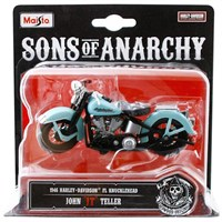 Maisto Sons Of Anarchy 1946 Harley Davidson Jt 1:18 Model Motosiklet