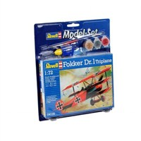 Revell Model Set Uçak Model Set Fokker Dr.1 Trıplane / 64116
