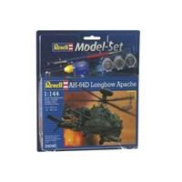 Revell Model Set Uçak Model Set Ah-64D Longbow Apache / 64046