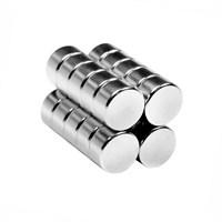 Neodyum Mıknatıs Silindir D10x5 mm (15`li Paket)