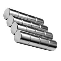 Neodyum Mıknatıs Silindir D10x10 mm (10'lu Paket)
