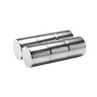 Neodyum Mıknatıs Silindir D15x15 mm (3`lü Paket)