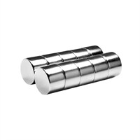 Neodyum Mıknatıs Silindir D15x10 mm (4'lü Paket)