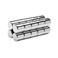 Neodyum Mıknatıs Silindir D8x8 mm (20'li Paket)