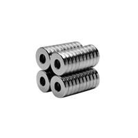Neodyum Mıknatıs Halka D10xd4x2 mm (40`lı Paket)