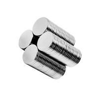 Neodyum Mıknatıs Silindir D10x1 mm (60`lı Paket)