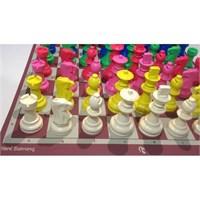 Renkli Satranç Takımı