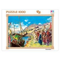 KS 1000 Parça Puzzle Fatih'in Kadırgaları