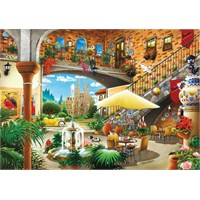 Ks Games 1000 Parça Barcelona View From Courtyard Puzzle