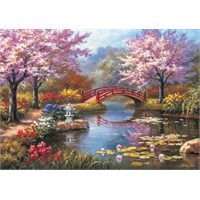 Ks Games Puzzle Japanese Garden in Bloom