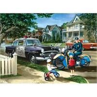 Masterpieces 1000 Parça Puzzle Neighborhood Patrol