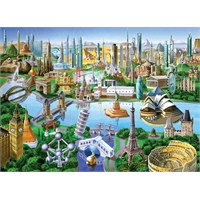 Masterpieces 1000 Parça Puzzle Landmarks Of The World