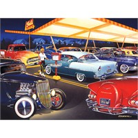 Masterpieces 500 Parça Puzzle Ted's Drive In