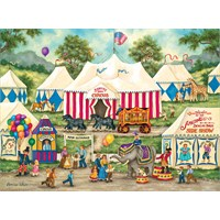Masterpieces 500 Parça Puzzle The Circus İs Coming To Town