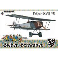 Fokker D. VII (O.A.W.) Sieben Schwaben (ölçek 1:48
