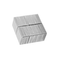 Neodyum Mıknatıs Blok 10x10x1 mm (40'lı Paket)