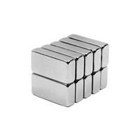 Neodyum Mıknatıs Blok 20x10x5 mm (6'lı Paket)