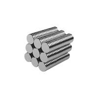 Neodyum Mıknatıs Silindir D5x1 mm (100'lü Paket)