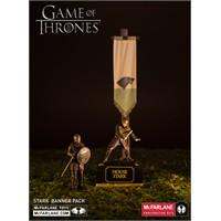 Mcfarlane Game Of Thrones Stark Banner Pack Yapım Seti