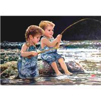 Minik Balıkçılar / Taking The Bait