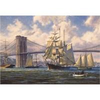Brooklyn Köprüsünden Geçiş / Violette Passing Brooklyn Bridge