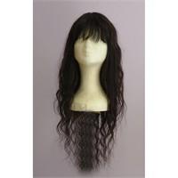 Gerçek İnsan Saçı El Yapımı 65 Cm Uzunluk
