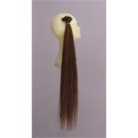 Gerçek İnsan Saçı El Yapımı 60 Cm