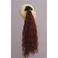Gerçek İnsan Saçı El Yapımı Dalgalı