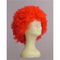 Sentetik Kırmızı Bonus Saç