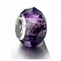 Angemiel Mor Kristal Murano Gümüş Charm İle Kendi Tarzını Yarat
