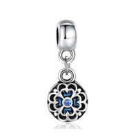 Angemiel Sallanan Mavi Çiçek Charm İle Kendi Tarzını Yarat