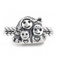 Angemiel Anne Ve Çocukları Figürlü Gümüş Charm İle Kendi Tarzını Yarat