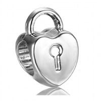 Angemiel Kalbimin Kilidi Figürlü Gümüş Charm İle Kendi Tarzını Yarat