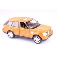 Turuncu Range Rover Sport 1/38 Çek Bırak Die-Cast Model Araç