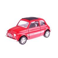 Fiat 500 1/38 Çek Bırak Die-Cast Model Araç