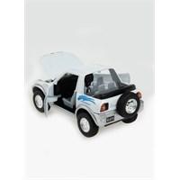Toyota Rav4 Cabriolet Çek Bırak 1/32 Die Cast Model Araç
