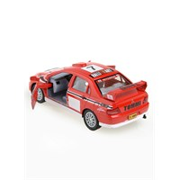 Mitsubishi Lancer Evolution Vıı Çek Bırak 1/36 Die Cast Model Araç