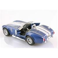 Mavi 1965 Shelby Cobra 427 5-C 1/32 Çek Bırak Die-Cast Model Araç