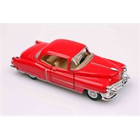 Kırmızı 1953 Cadillac Series 62 1/43 Çek Bırak Die-Cast Model Araç